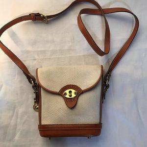 Vintage Dooney & Bourke AWL Crossbody Leather Bag
